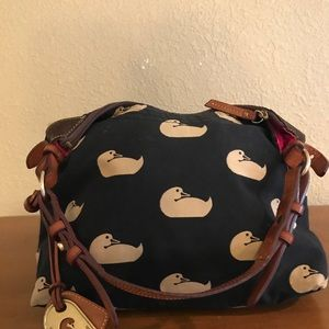 Dooney and Burke hobo bag